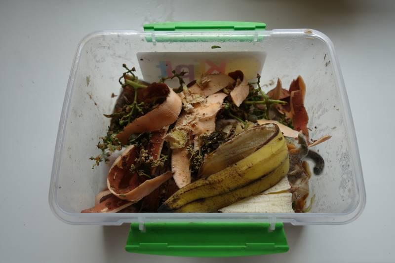 Boîte à déchets sans le couvercle
